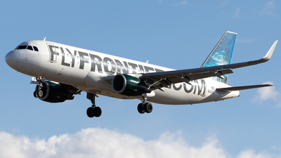 N220FR - Airbus A320-214 - Frontier Airlines
