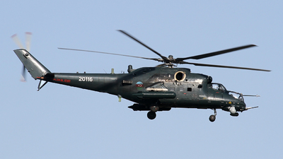 20116 - Mil Mi-35M Hind - Azerbaijan - Air Force