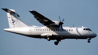 F-GFYN - ATR 42-300 - Air Littoral