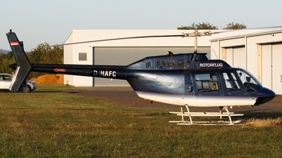 D-HAFC - Agusta-Bell AB-206B JetRanger II - Rotorflug