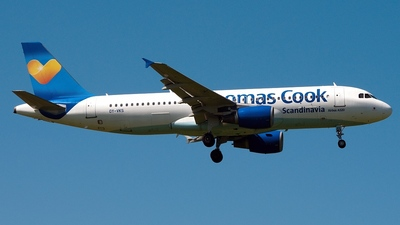 OY-VKS - Airbus A320-214 - Thomas Cook Airlines Scandinavia