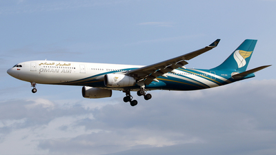 A picture of A4ODH - Airbus A330343 - Oman Air - © Javier Rodriguez - Amics de Son Sant Joan