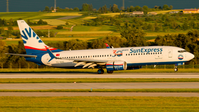 A picture of TCSOC - Boeing 7378HC - SunExpress - © Patrick Weis