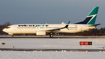 A picture of CGJLZ - Boeing 7378CT - WestJet - © Michael MacLeod