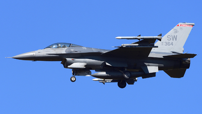 91-0364 - Lockheed Martin F-16CJ Fighting Falcon - United States - US Air Force (USAF)