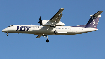 OY-YBY - Bombardier Dash 8-Q402 - LOT Polish Airlines