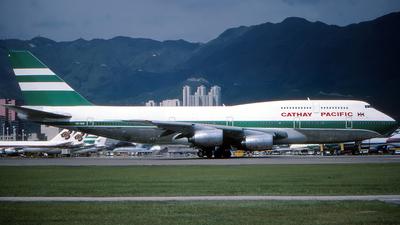 VR-HIK - Boeing 747-367 - Cathay Pacific Airways