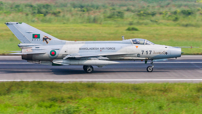 2717 - Chengdu F-7BGI - Bangladesh - Air Force