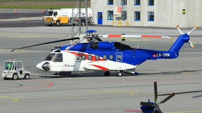 LN-ONN - Sikorsky S-92A Helibus - Bristow Norway