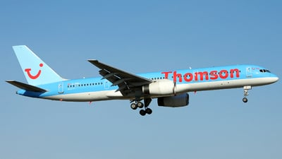 G-OOBJ - Boeing 757-2B7 - Thomson Airways