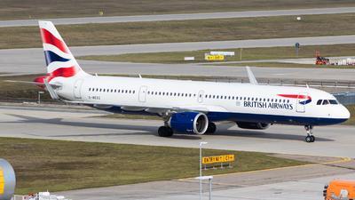 G-NEOZ - Airbus A321-251NX - British Airways