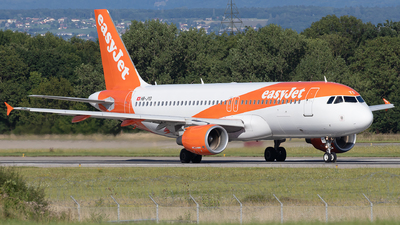 A picture of HBJYD - Airbus A320214 - easyJet - © Sandra