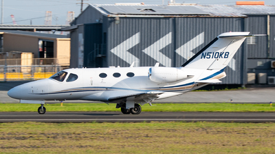 N510KB - Cessna 510 Citation Mustang - Private