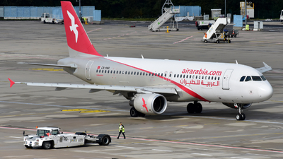 CN-NMK - Airbus A320-214 - Air Arabia Maroc