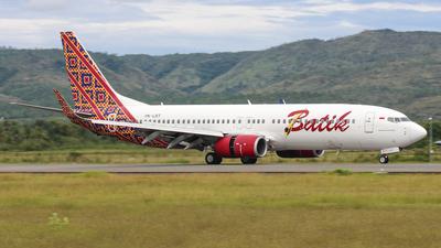 A picture of PKLBT - Boeing 7378GP - Batik Air - © M. Flint Aqsa