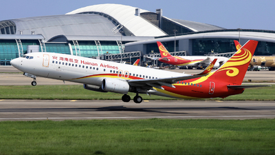 A picture of B206G - Boeing 73784P - Hainan Airlines - © nibrage