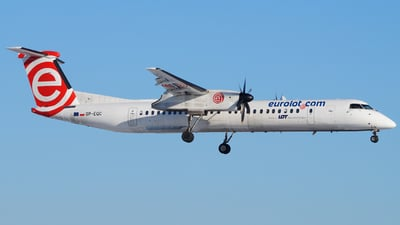 SP-EQC - Bombardier Dash 8-Q402 - LOT Polish Airlines
