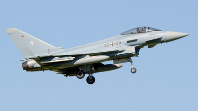 30-58 - Eurofighter Typhoon EF2000 - Germany - Air Force