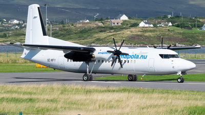 SE-MFY - Fokker 50 - Amapola Flyg
