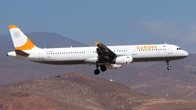 LZ-HEA - Airbus A321-231 - Holiday Europe