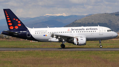 A picture of OOSSD - Airbus A319112 - Brussels Airlines - © Gabriele Fontana - Tuscan Aviation