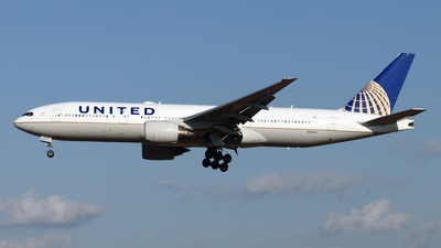 A picture of N229UA - Boeing 777222(ER) - United Airlines - © NRT Spotter