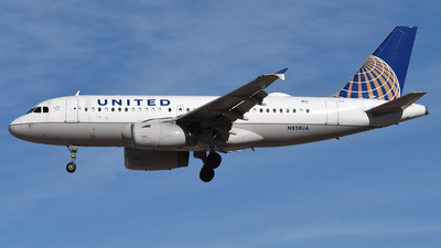 N838UA - Airbus A319-131 - United Airlines