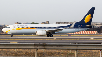 VT-JFL - Boeing 737-8AL - Jet Airways