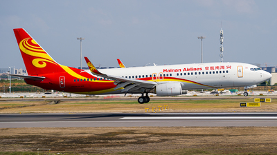 A picture of B5733 - Boeing 73784P - Hainan Airlines - © FIWH