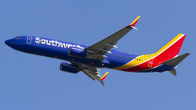 A picture of N8608N - Boeing 7378H4 - Southwest Airlines - © Jeremy D. Dando