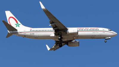 CN-RGK - Boeing 737-8B6 - Royal Air Maroc (RAM)