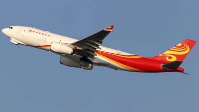 A picture of BLNV - Airbus A330243F - Hong Kong Air Cargo - © shao qi wei
