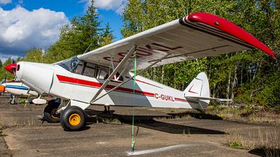 C-GUKL - Piper PA-12 Super Cruiser - Private