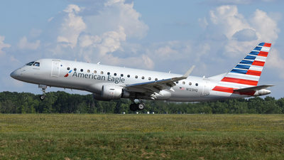 A picture of N123HQ - Embraer E175LR - American Airlines - © DJ Reed - OPShots Photo Team