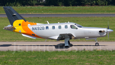 N492B - Socata TBM-850 - Private
