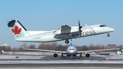 C-GABO - Bombardier Dash 8-311 - Air Canada Express (Jazz Aviation)