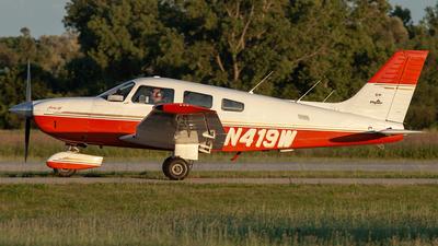 A picture of N419W - Piper PA28181 Archer III - [2843001] - © Adam of A2