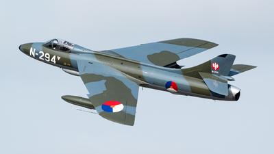 G-KAXF - Hawker Hunter F.6A - Dutch Hawker Hunter Foundation