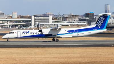 A picture of JA844A - De Havilland Canada Dash 8400 - All Nippon Airways - © LUSU