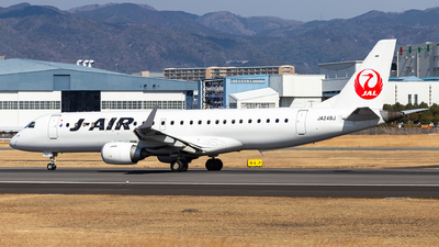 A picture of JA249J - Embraer E190STD - Noble Air Charter - © LUSU