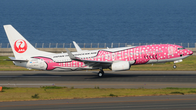 A picture of JA06RK - Boeing 7378Q3 - Japan Transocean Air - © Kinmei