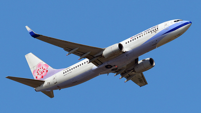 B-18663 - Boeing 737-8AL - China Airlines