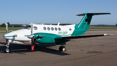 OY-CKP - Beechcraft B200 Super King Air - COWI Aerial Survey