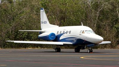 XA-AOV - North American Sabreliner 75 - Private