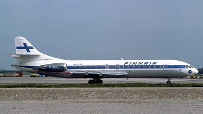 OH-LSG - Sud Aviation SE 210 Caravelle 10B3 - Finnair