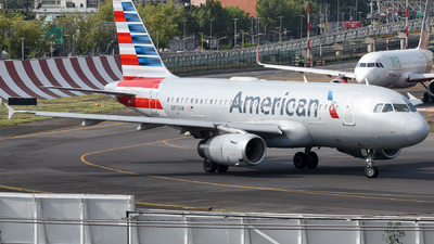 A picture of N815AW - Airbus A319132 - American Airlines - © Francisco Enrique Islas