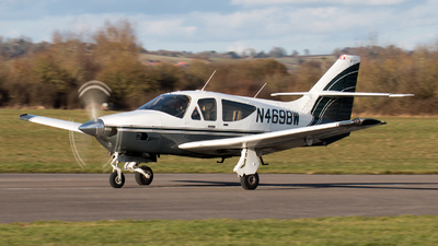 N4698W - Rockwell Commander 112TCA - Private