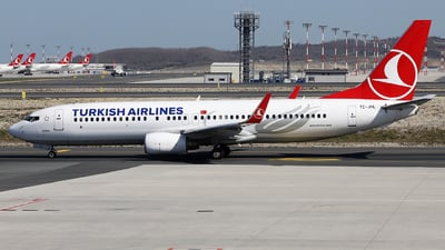 TC-JHL - Boeing 737-8F2 - Turkish Airlines
