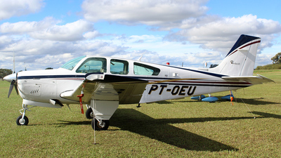 PT-OEU - Beechcraft F33A Bonanza - Private