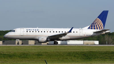 A picture of N636RW - Embraer E170SE - United Airlines - © DJ Reed - OPShots Photo Team